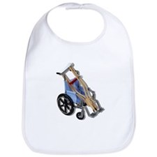 Crutches Wheelchair Bib