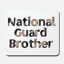 National Guard Brother Camo Mousepad