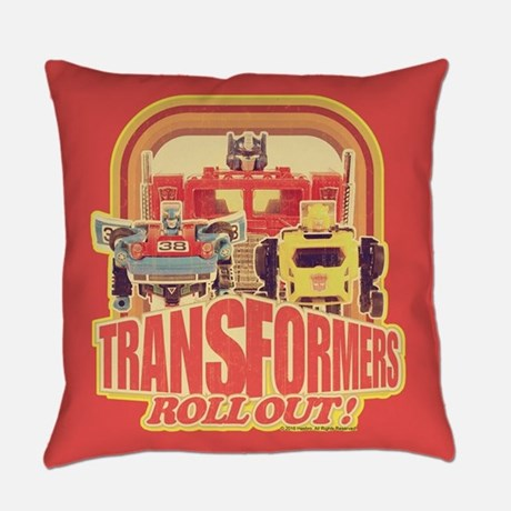 Transformers Treto Roll Out Pillow