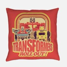 Transformers Retro Roll Out Everyday Pillow