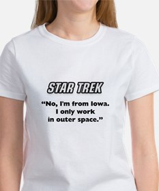 Capt. Kirk I'm from Iowa Women's T-Shirt