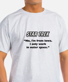 Capt. Kirk I'm from Iowa T-Shirt