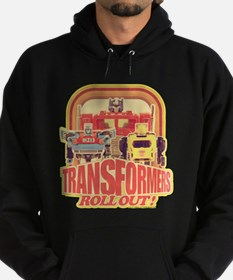 Transformers Retro Roll Out Hoodie (dark)