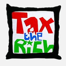 Tax the Rich Throw Pillow