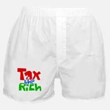 Tax the Rich Boxer Shorts