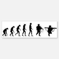 Evolution of a Soldier Sticker (Bumper 10 pk)