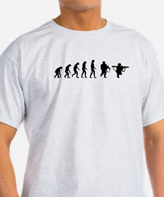 Evolution of a Soldier T-Shirt