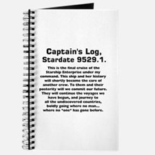Capt.'s Log Stardate 9529.1. Journal