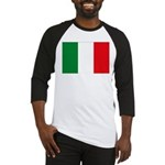 Italian Flag Baseball Jersey