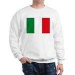 Italian Flag Sweatshirt