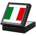 Italian Flag Keepsake Box