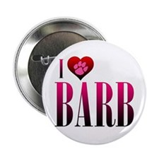 "I Heart Barb 2.25"" Button"