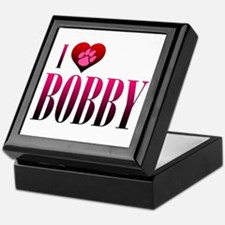 I Heart Bobby Keepsake Box