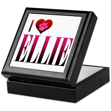 I Heart Ellie Keepsake Box