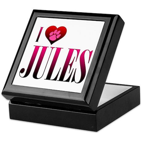 I Heart Jules Keepsake Box