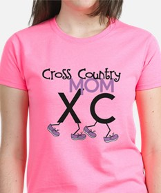 Xc Cross Country Mom T-Shirt