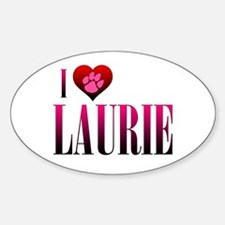 I Heart Laurie Decal