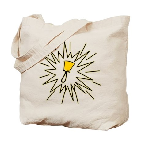 The Starburst Bell Tote Bag
