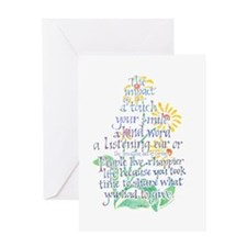 Impact of a Touch Greeting Card