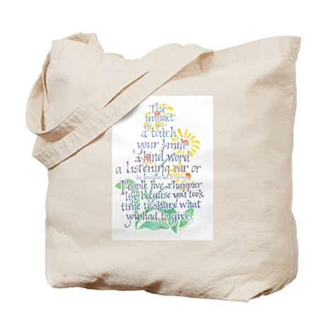 Impact of a Touch Tote Bag