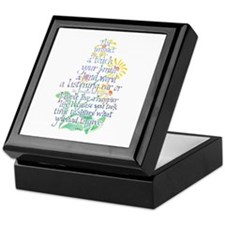 Impact of a Touch Keepsake Box