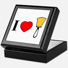 I Heart Bells Keepsake Box