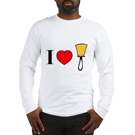 I Heart Bells Long Sleeve T-Shirt