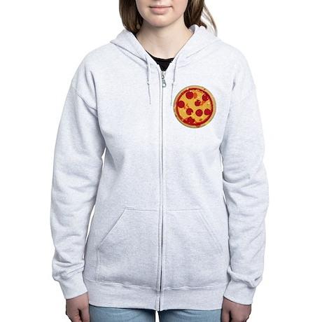 Pizza by Joe Monica Women's Zip Hoodie