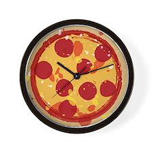 Pizza by Joe Monica Wall Clock