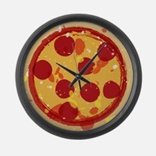 Pizza by Joe Monica Large Wall Clock