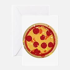 Pizza by Joe Monica Greeting Card