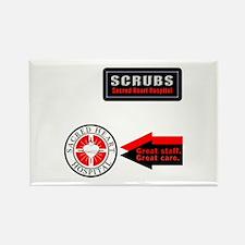 Scrubs Sacred Heart Rectangle Magnet (10 pack)