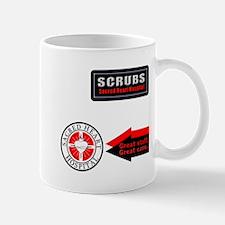 Scrubs Sacred Heart Mug