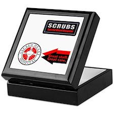 Scrubs Sacred Heart Keepsake Box
