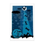 Let Sleeping Dogs Lie Mini Poster Print