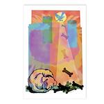 Let Sleeping Dogs Lie Postcards (Package of 8)