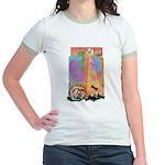 Let Sleeping Dogs Lie Jr. Ringer T-Shirt