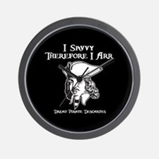 Therefore I Arr Wall Clock
