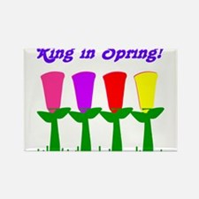 Ring in Spring Rectangle Magnet (10 pack)