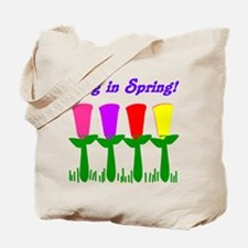 Ring in Spring Tote Bag