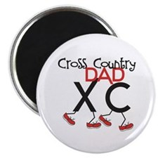 """Cross Country Dad 2.25"""" Magnet (100 pack)"""