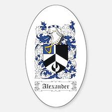 Alexander [English] Decal