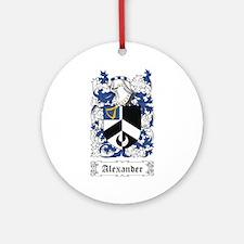 Alexander [English] Ornament (Round)