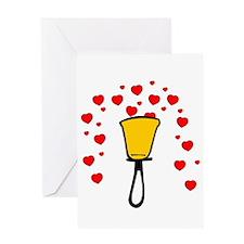 Heart Fountain Greeting Card