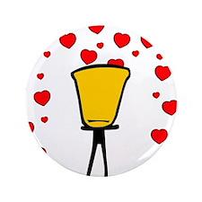 "Heart Fountain 3.5"" Button"