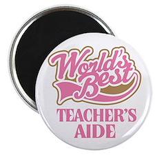 Worlds Best Teachers Aide Magnet