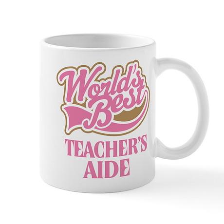 Worlds Best Teachers Aide Mug