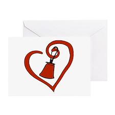 Cute Ringer Greeting Card