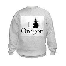 I Tree Oregon Sweatshirt