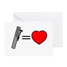 Chimes Are Love Greeting Card